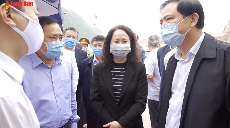 Đoàn công tác của một số bộ, ngành làm việc tại tỉnh Lạng Sơn