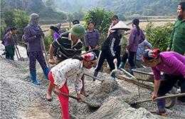 Xây dựng thôn nông thôn mới: Quyết tâm đạt mục tiêu