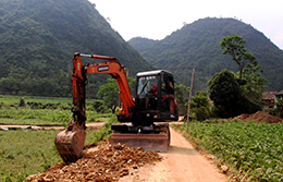 Xây dựng nông thôn mới: Chủ động ở Bắc Sơn