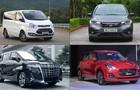 Top những mẫu xe kén khách tại Việt Nam trong tháng 4
