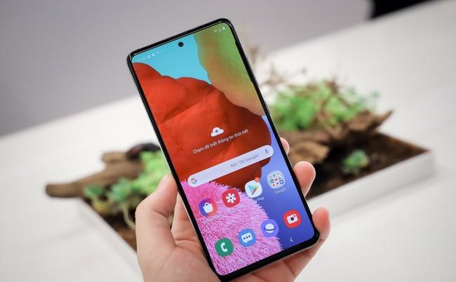 Samsung Galaxy A51 bán chạy nhất quý 1/2020