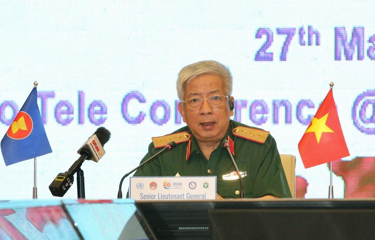 Quân y các nước ASEAN diễn tập trực tuyến phòng, chống dịch COVID-19