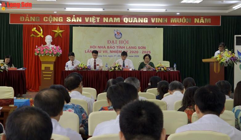 Hội nhà báo tỉnh Lạng Sơn tổ chức Đại hội nhiệm kỳ 2020 - 2025