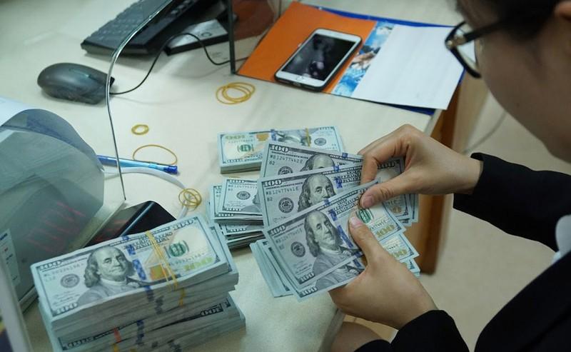 Tỷ giá trung tâm tiếp tục tăng, hiện ở mức 23.239 đồng/USD