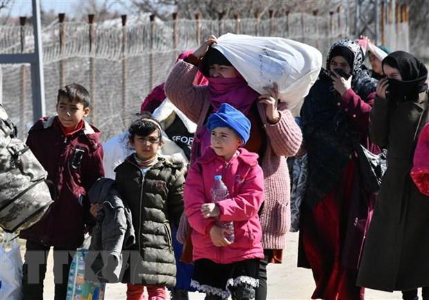 Số người vượt biên trái phép vào châu Âu tăng mạnh trở lại