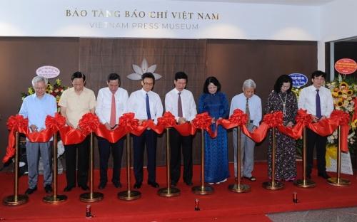 Khai trương Bảo tàng Báo chí Việt Nam