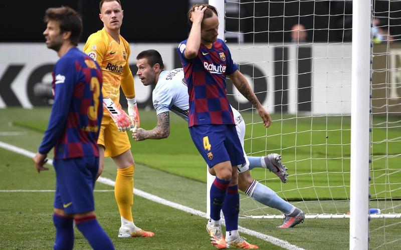 Thủng lưới phút 88, Barca bị Celta Vigo cầm chân