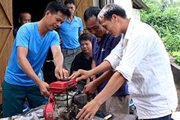 Phát huy sức dân trong xây dựng thôn nông thôn mới
