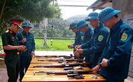 Lực lượng vũ trang quân sự Văn Quan lan tỏa các phong trào thi đua