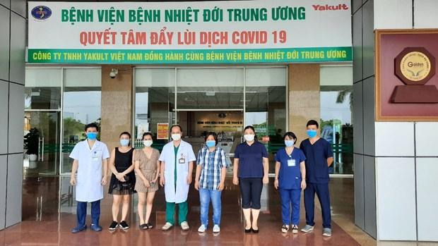 Thêm 4 trường hợp mắc COVID-19 được công bố khỏi bệnh