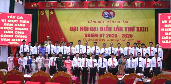 Đại hội Đảng bộ huyện Chi Lăng thành công tốt đẹp