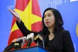 Việt Nam trao công hàm phản đối Trung Quốc tập trận tại Bắc Hoàng Sa