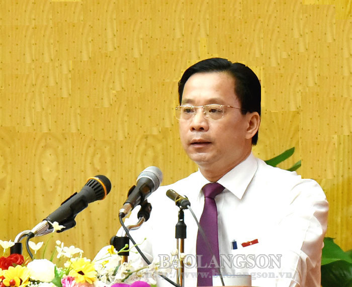 HĐND tỉnh Lạng Sơn khóa XVI nhiệm kỳ 2016-2021 bế mạc kỳ họp thứ 17
