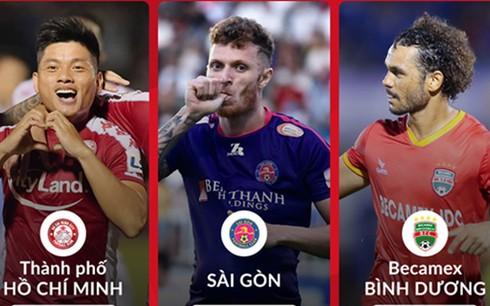 BXH V-League sau vòng 8: Công Phượng và đồng đội bị kình địch vượt mặt