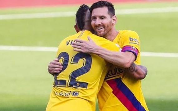 Messi lập cột mốc đáng nhớ ở La Liga