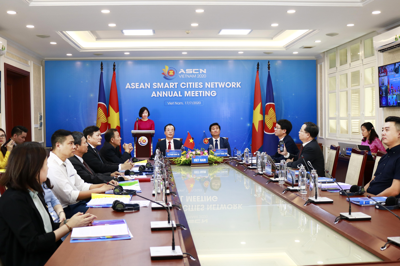 Hội nghị thường niên năm 2020 mạng lưới đô thị thông minh ASEAN