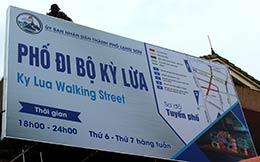 Tuyến phố đi bộ ở thành phố Lạng Sơn: Kỳ vọng về một sản phẩm du lịch hấp dẫn