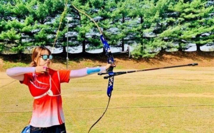 """Tài năng trẻ Đỗ Thị Ánh Nguyệt """"mơ vàng"""" Olympic cùng đội tuyển bắn cung quốc gia"""