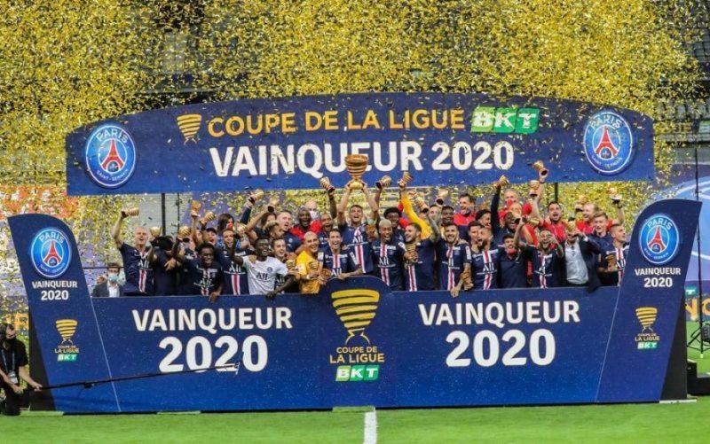 """Vô địch Cúp Liên đoàn, Paris St Germain hoàn tất """"cú ăn bốn"""" giải quốc nội"""