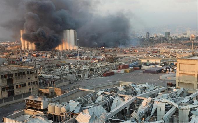 Nổ lớn tại Lebanon, 78 người chết và 4.000 người bị thương