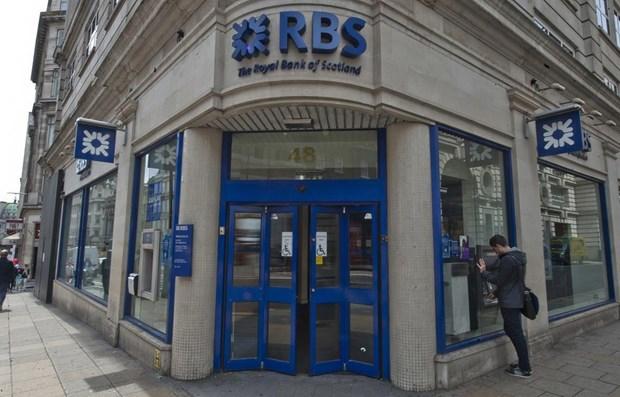 Các ngân hàng châu Âu bị