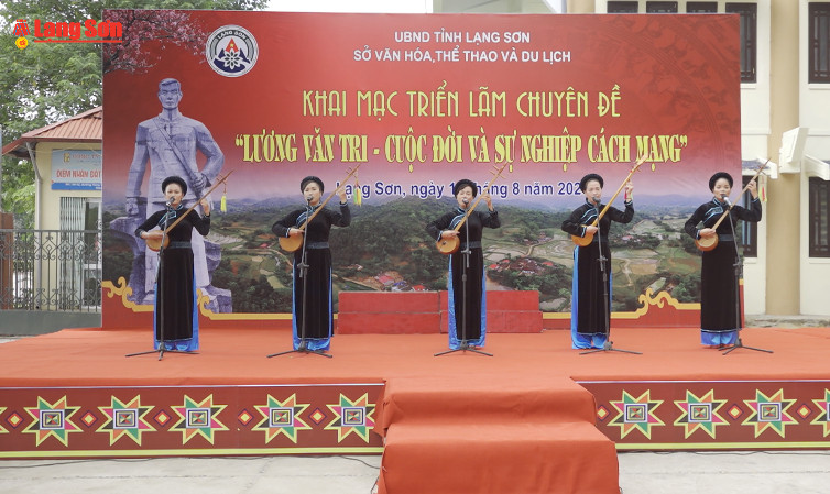 """Khai mạc triển lãm chuyên đề """"Lương Văn Tri – Cuộc đời và sự nghiệp cách mạng"""""""