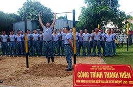 Tuổi trẻ Vùng 4 Hải quân: Những công trình thiết thực chào mừng đại hội đảng các cấp