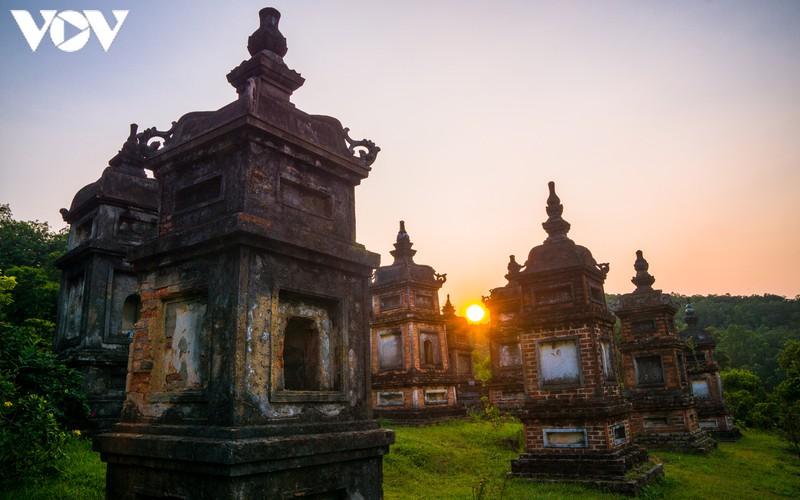 Chiều an yên ở chùa Bổ Đà