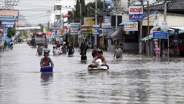 Thái Lan bổ sung 380 triệu USD để khắc phục hậu quả hạn hán, lũ lụt