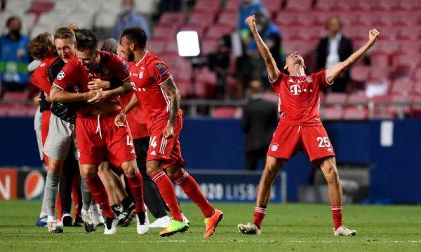 Bayern Munich đoạt cúp vô địch Champions League