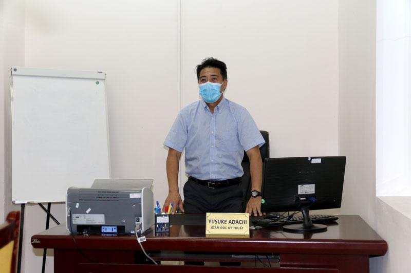 Tân GĐKT Yusuke Adachi đã sẵn sàng với bóng đá Việt Nam
