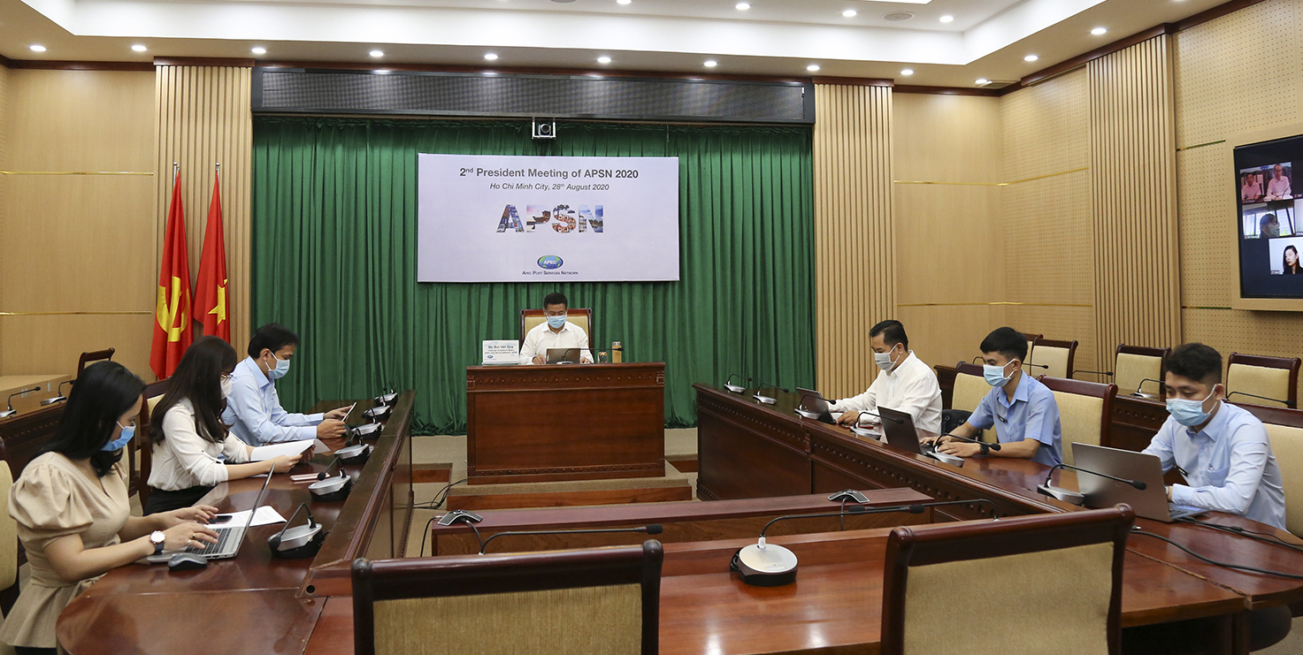 Hội nghị lãnh đạo Hội đồng Mạng lưới cảng biển APEC 2020
