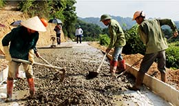 Xây dựng nông thôn mới: Chủ động vượt khó