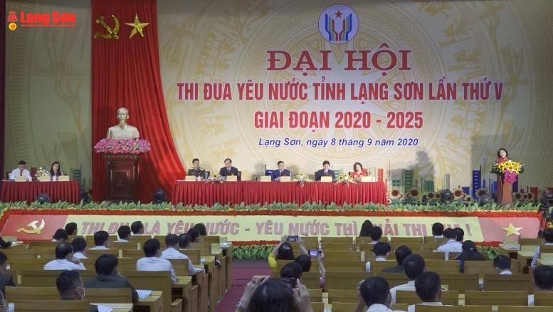 228 đại biểu điển hình dự Đại hội thi đua yêu nước tỉnh Lạng Sơn lần thứ 5