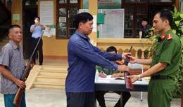 Điều động công an chính quy đảm nhiệm các  chức danh công an xã trên địa bàn tỉnh