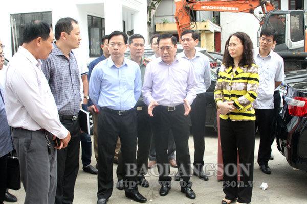 Lãnh đạo tỉnh kiểm tra công tác chuẩn bị tổ chức Đại hội Đảng bộ tỉnh lần thứ XVII