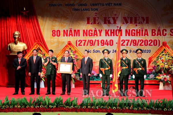 Lạng Sơn long trọng kỷ niệm 80 năm ngày Khởi nghĩa Bắc Sơn
