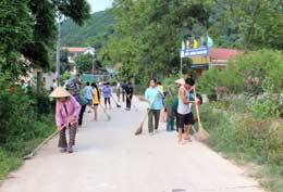Xây dựng nông thôn mới: Bước tiến miền biên ải
