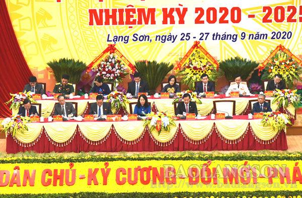 350 đại biểu chính thức dự Đại hội Đảng bộ tỉnh Lạng Sơn lần thứ XVII