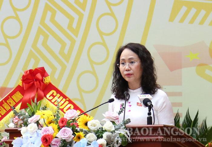 Diễn văn bế mạc Đại hội đại biểu Đảng bộ tỉnh Lạng Sơn lần thứ XVII