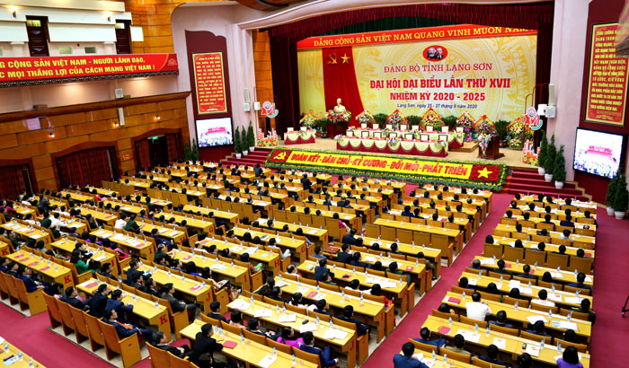 Trực tiếp: Bế mạc Đại hội đại biểu Đảng bộ tỉnh Lạng Sơn lần thứ XVII