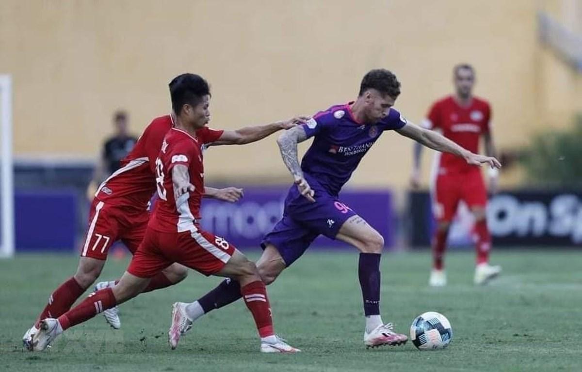 Ghi bàn phút 93, Viettel chấm dứt chuỗi bất bại của Câu lạc bộ Sài Gòn