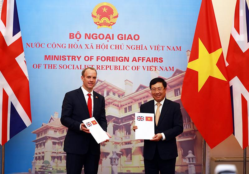 Anh đánh giá cao vai trò, vị thế ngày càng quan trọng của Việt Nam