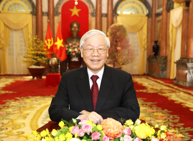 Thư của Tổng Bí thư, Chủ tịch nước Nguyễn Phú Trọng nhân kỷ niệm 75 năm Ngày truyền thống ngành Khí tượng Thủy văn Việt Nam