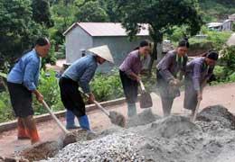 Tăng tốc xây dựng khu dân cư nông thôn mới kiểu mẫu