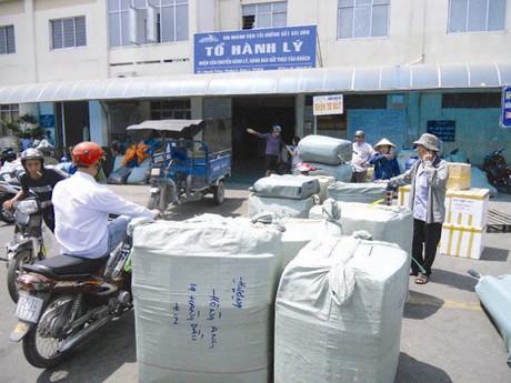 Đường sắt triển khai bán vé hành lý điện tử