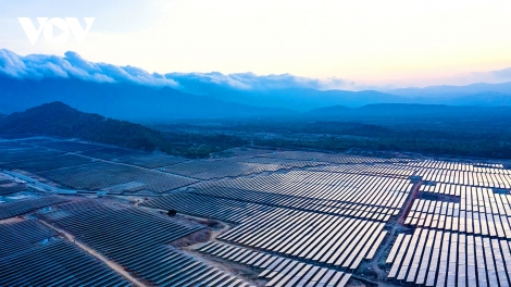 Ninh Thuận khánh thành nhà máy điện mặt trời lớn nhất Đông Nam Á