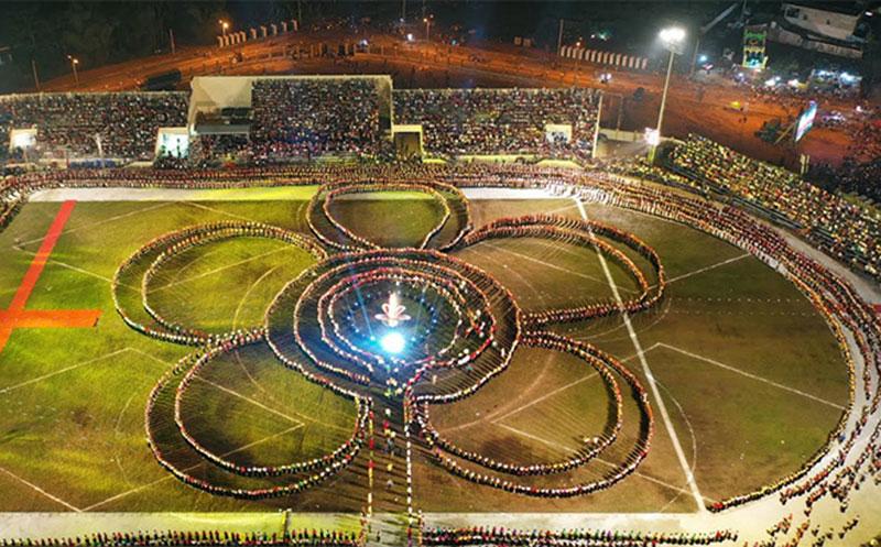 Yên Bái tổ chức màn đại xòe Thái với 2.020 nghệ nhân tham gia
