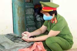 Công an huyện Chi Lăng: Quyết liệt ngăn chặn hành vi vận chuyển hàng lậu