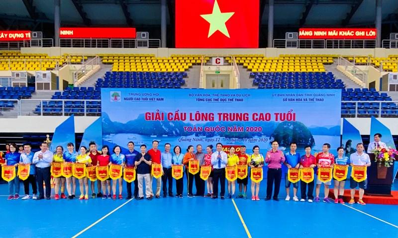 Khai mạc Giải  cầu lông trung cao tuổi toàn quốc năm 2020